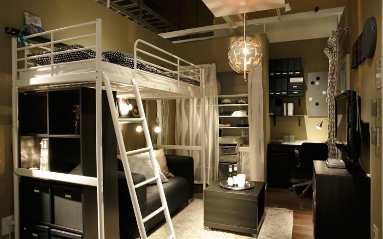 暮らし】狭いワンルームでも広々生活空間を!ロフトベッドの活用