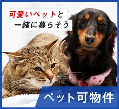 犬・猫飼育できるアパート