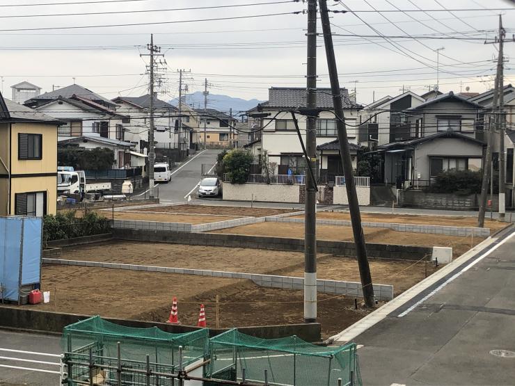 グリーンコート田尻分譲地広角/