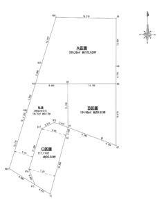 地形図(分割)