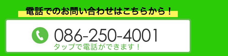 TEL:086-250-4001